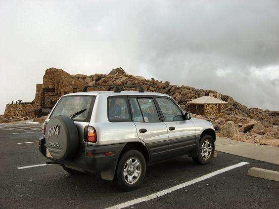 The RAV4 bags its first 14er!