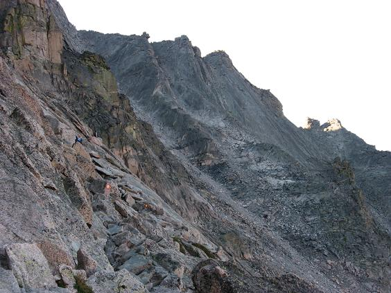 Bull's eyes are your friends, missing them could be your end - Longs Peak