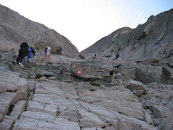Is this really the route, you sure?  - Longs Peak