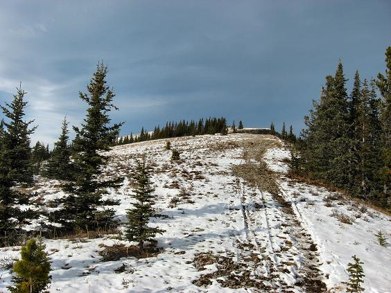 Above tree line at last - Prairie Mountain